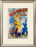Bazar Populaire Framed Giclee Print
