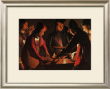 Les Joueurs de Des Prints by George De La La Tour