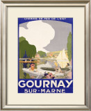 Gournay Framed Giclee Print by Rene Lelong