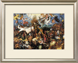 The Fall of the Rebel Angels, c.1562 Posters by Pieter Bruegel the Elder