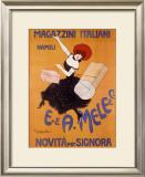 Magazzini Italiani Framed Giclee Print by Leonetto Cappiello