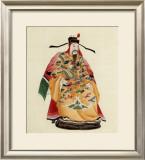 Emperor in Yellow Kimono Poster