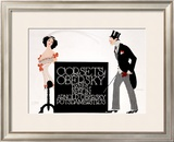 Corsets Obersky Framed Giclee Print by  Klinger