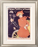 Pneus Ferres Gallus Framed Giclee Print by Jules-Alexandre Grün