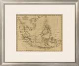 East India Islands, c.1812 Framed Giclee Print by Aaron Arrowsmith