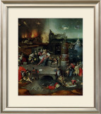 The Temptation of St. Anthony, Central Panel Posters by Hieronymus Bosch