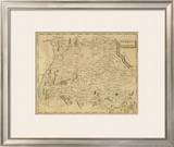 Germany South, c.1812 Framed Giclee Print by Aaron Arrowsmith