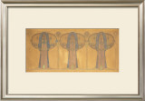 Design For a Decorative Frieze of Figures Print by Frances MacNair