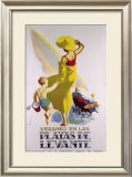 Playas de Levante Framed Giclee Print by  Morell