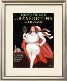 Benedictins de Soulac Framed Giclee Print by Leonetto Cappiello