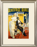 Dentifrice Durel Framed Giclee Print by Marcellin Auzolle
