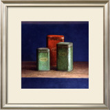 Tin Boxes I Prints by  Van Riswick