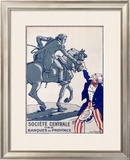 Societe Centrale des Banques de Province Framed Giclee Print by  Courboin