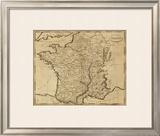 France, c.1812 Framed Giclee Print by Aaron Arrowsmith