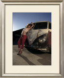 Dreamy Pick Up Framed Giclee Print by David Perry