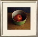 Green Bowl II Art by  Van Riswick