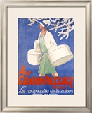 Au Grand Passage Framed Giclee Print by Emil Cardinaux