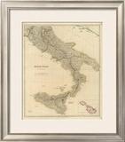 Southern Italy, c.1832 Framed Giclee Print by John Arrowsmith