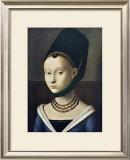 Portrait de Jeune Femme ポスター : ペトルス・クリストゥス