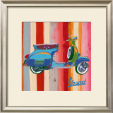 Pop Vespa II Prints by Valerio Salvini