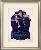Ganter and Company Framed Giclee Print by Burkhard Mangold