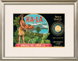 "Ka-La ""The Sun"" Brand Framed Giclee Print"