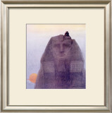 Egypt and the Sphynx Framed Giclee Print