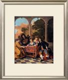 Compagnie Faisant de la Musique Poster by Jacob van Loo