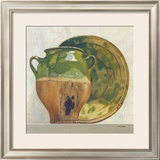 Green Potteries Prints by Claudine Picard