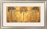 The May Queen Print by Margaret MacDonald
