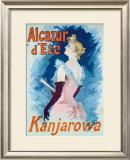 Alcazar d'Ete Framed Giclee Print by Jules Chéret