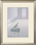 Wallspace with Piano, 1984 Art by Perry King