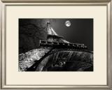 Tour Eiffel, Pleine Lune Posters by Antoine Carrara