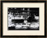 View from the Window in Paris, Foggy Prints by Manabu Nishimori