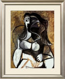 Woman in an Armchair Print by Pablo Picasso