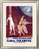 Etoiles du Ballet Russe Framed Giclee Print by A. Wamaw