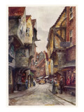 An Old Street in a Provincial City - the Shambles, York Giclee Print