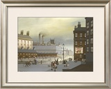 Playground Scene Limited Edition Framed Print by Braaq Braaq