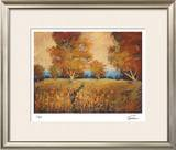 Golden Walk I Limited Edition Framed Print by Michael Tienhaara