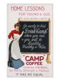 Camp Coffee - it Has No Equal Giclee Print