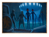 Cahill UFO Abduction Giclee Print by Michael Buhler