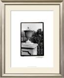 Garden Elegance VI Print by Laura Denardo