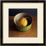 Green Bowl I Prints by  Van Riswick
