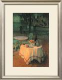 Der Kleine Gedeckte Tisch Art by Henri Le Sidaner