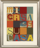 Mi Casa Es Su Casa Print by M.J. Lew