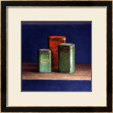 Tin Boxes I Posters by  Van Riswick