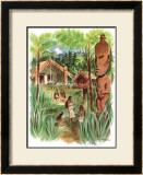 New Zealand Framed Giclee Print by Louis Macouillard