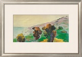 Gazing Seaward Prints by Peggy Olsen