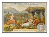 Arthur Fatally Wounded Giclee Print