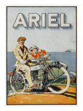 Adverisement for Ariel Motorbikes Giclee Print